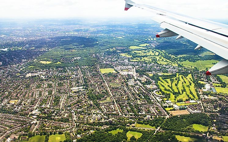 #3 London Heathrow Airport - 73.4 Million Passengers - The Busiest Airport in the World