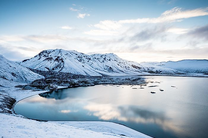 The Largest Lakes Of Iceland