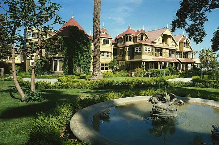 The Winchester Mystery House Of San Jose, California