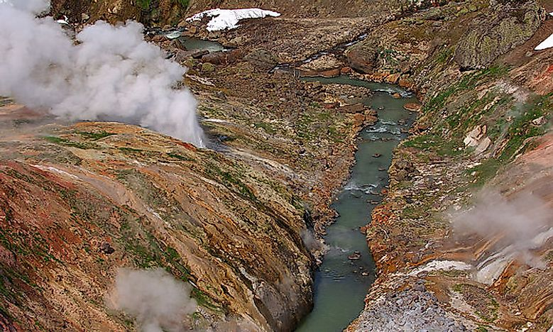#2 Valley of Geysers -