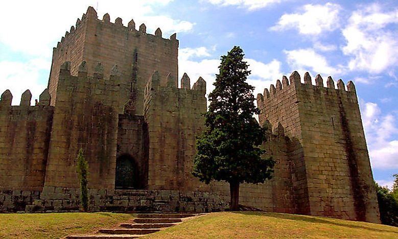 #3 Castle of Guimarães, 10th century -