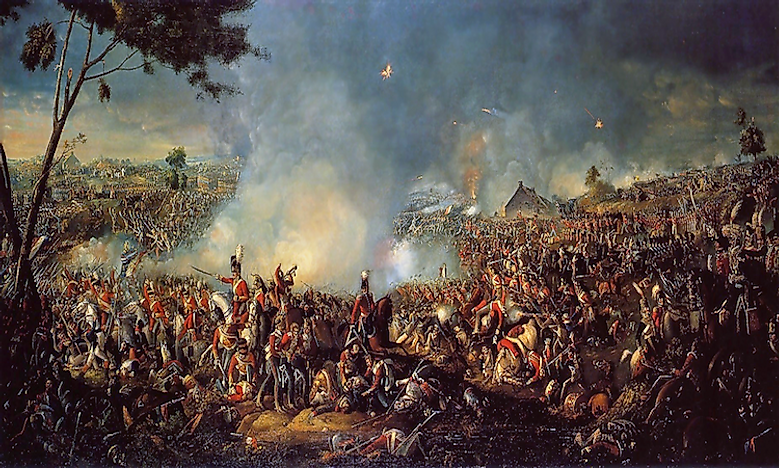 The Battle Of Waterloo And The Final Defeat Of Napoleon Bonaparte