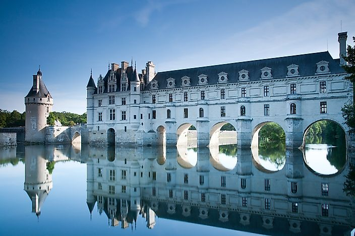 Chateau de Chenonceau in the Loire Valley.