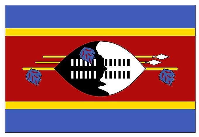 What Do the Colors and Symbols of the Flag of Swaziland Mean