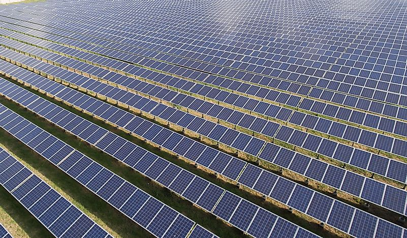 Where Is The World's Largest Solar Park?