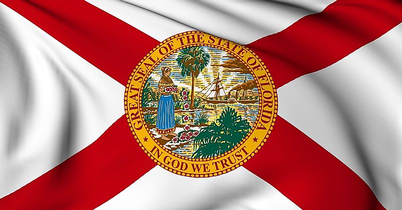Image result for florida flag, pictures