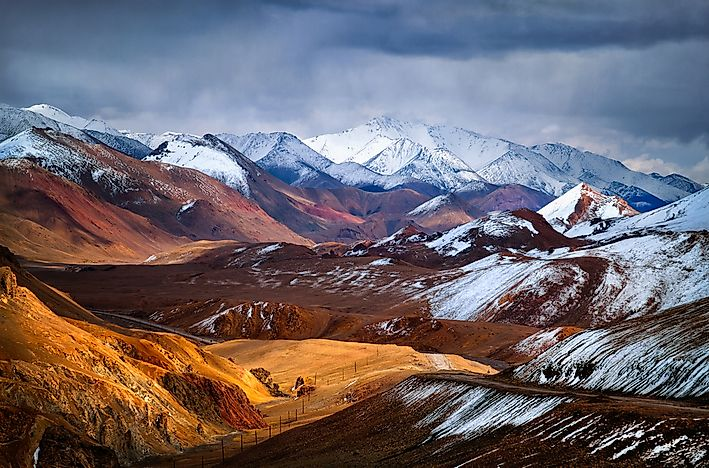 #4 Pamirs - 7649 meters above sea level
