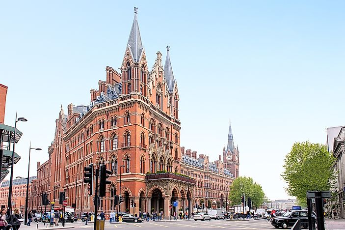 #1 St. Pancras International, London