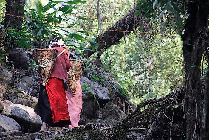 The Khasi People of Meghalaya: Where Women Rule - WorldAtlas com