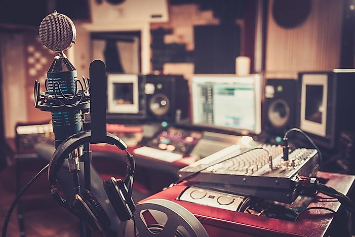 Which City in the United States Has the Most Recording Studios?
