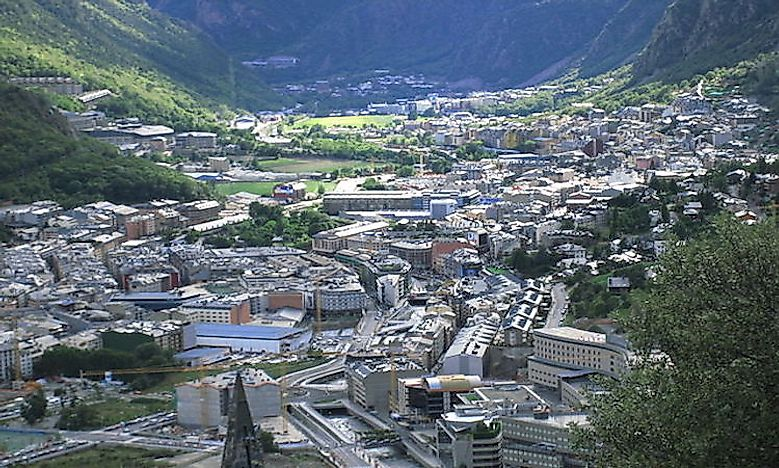 Biggest Cities In Andorra