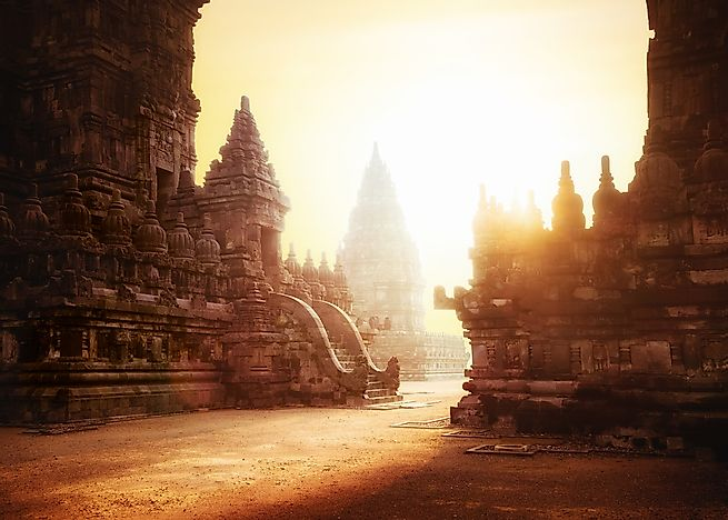 Hindu architecture in Indonesia.