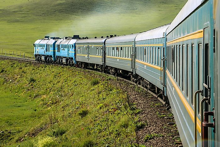 The World's Longest Train Journeys