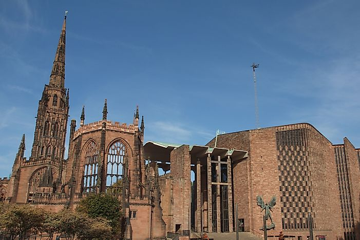 Coventry Cathedral - Notable Cathedrals