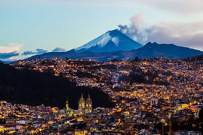 what is the capital of ecuador worldatlas com