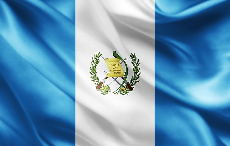What Do The Colors And Symbols Of The Flag Of Guatemala Mean?