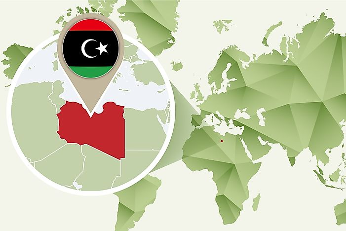 What Continent is Libya In?