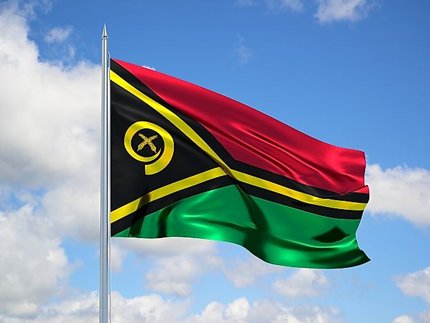 What Do The Colors And Symbols Of The Flag Of Vanuatu Mean?