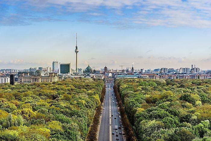 Biggest Cities In Germany - WorldAtlas com