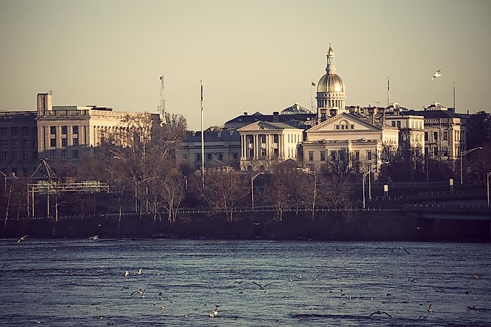 #8 Trenton, NJ - GDP Per Capita: $73,719 USD
