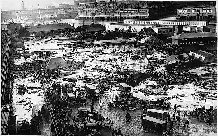 What Was The Great Molasses Flood Of Boston?