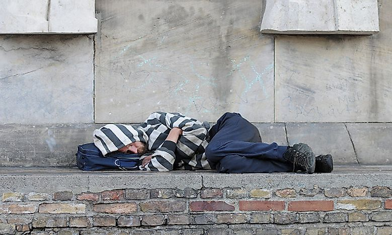 homelessness in australia a significant social issue worldatlas com