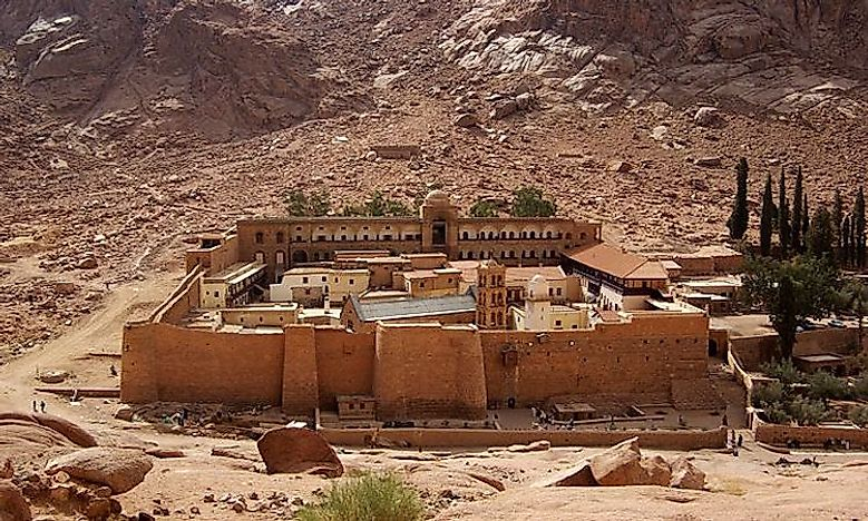 #1 Things To See And Do At Mount Sinai, Egypt -