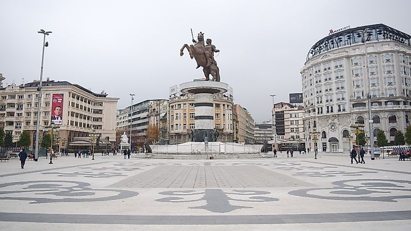 The Biggest Cities In Macedonia