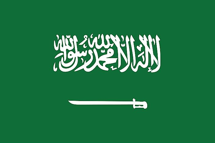 What Do The Colors And Symbols Of Flag Saudi Arabia Mean