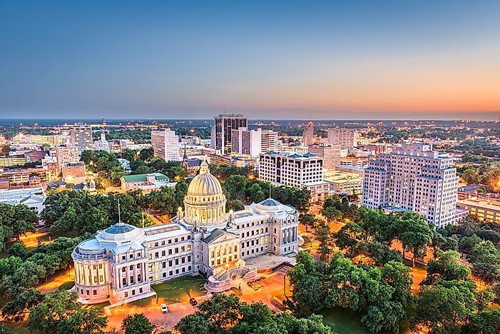 The 10 Biggest Cities In Mississippi