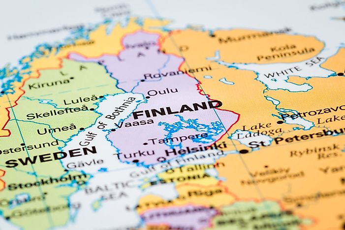 Which Continent is Finland In?