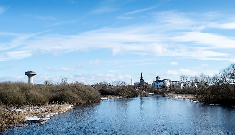 City of Kristianstad in Sweden.