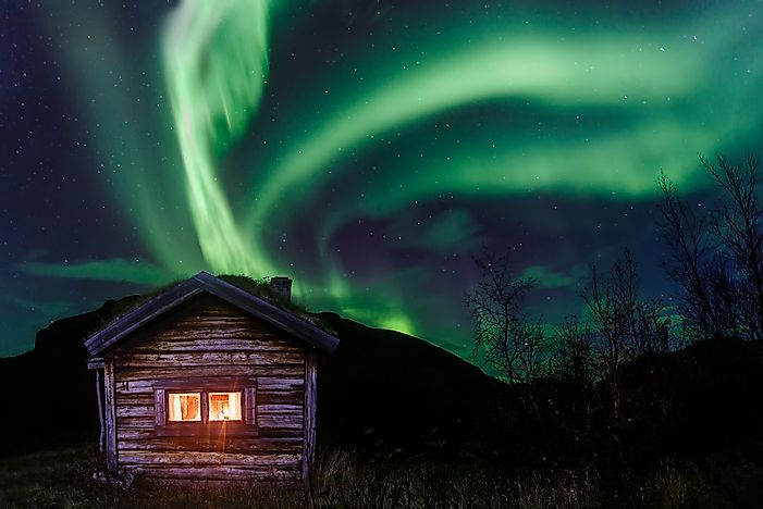 Northern Lights, Sweden.