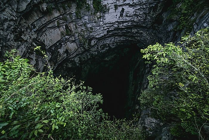 #7 The Cave of Swallows