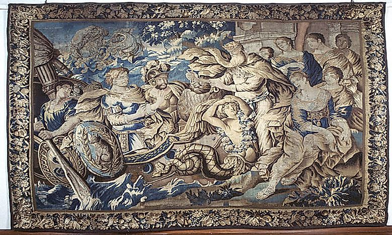 #1 Aubusson tapestry -