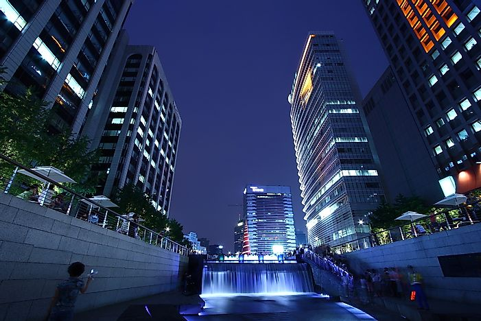 The Cheonggyecheon Urban Renewal Project