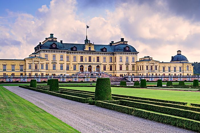 The beautiful Drottningholm Palace, Stockholm.