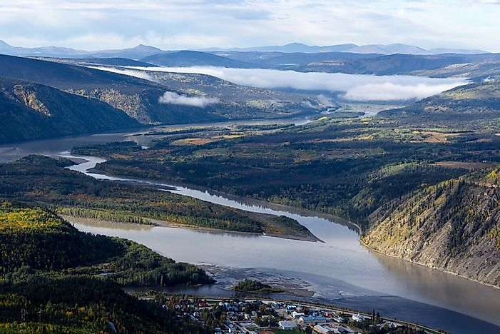 Where Does The Yukon River Begin And End?