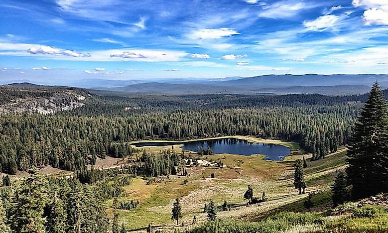 #5 Lassen Volcanic National Park -