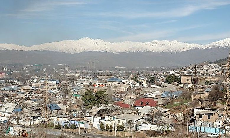 Biggest Cities In Tajikistan