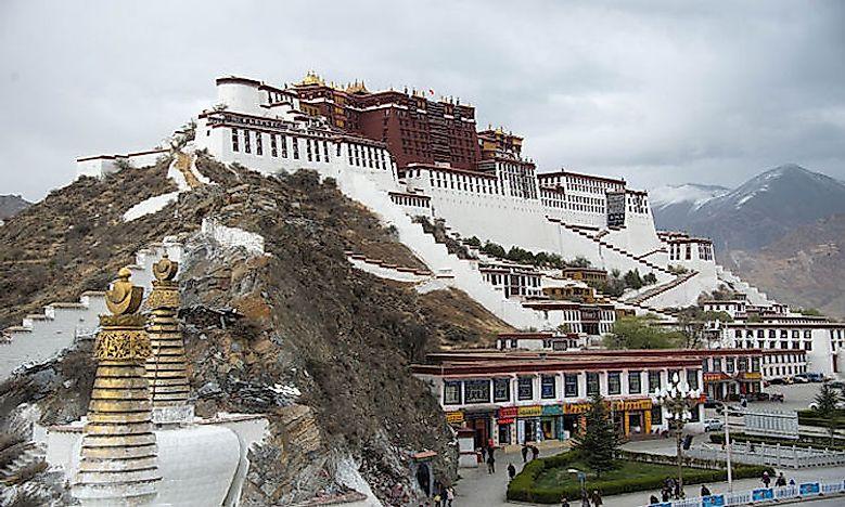 What Is The Capital Of Tibet Worldatlas Com