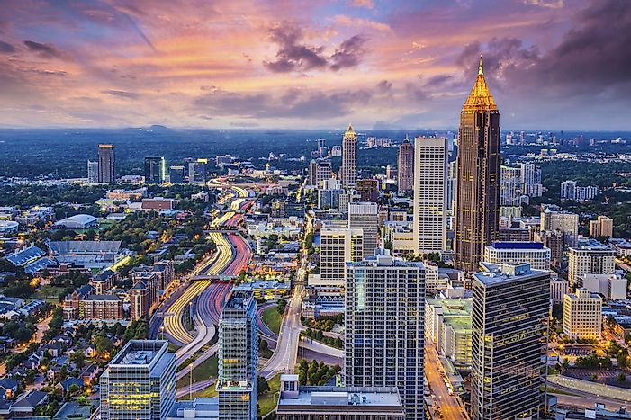 #10 Atlanta-Sandy-Springs-Roswell, Georgia - Richest Cities in the US