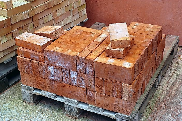 The World's Top Exporters of Bricks