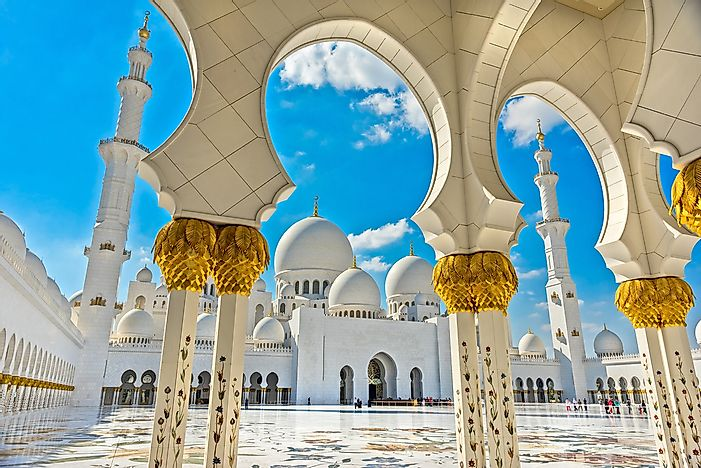 The Major Religions Practiced In The United Arab Emirates