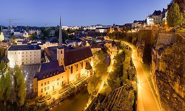 Luxembourg City - Historic Fortifications And Old Quarters