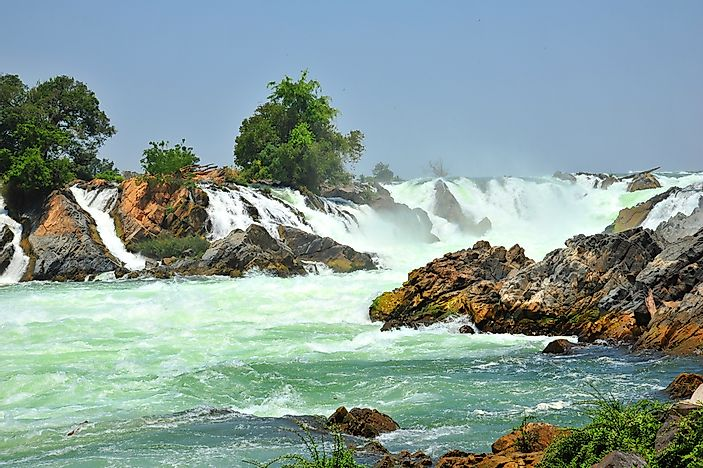 #9 The World's Widest Waterfall Is Located In Laos