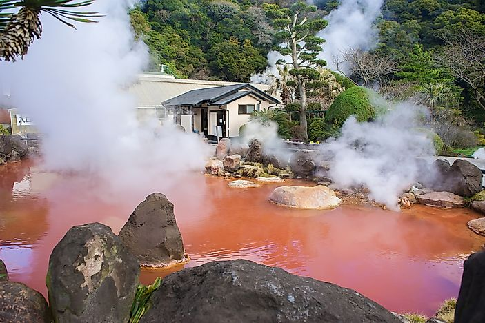 The Nine Hells of Beppu - Unique Places Around the World
