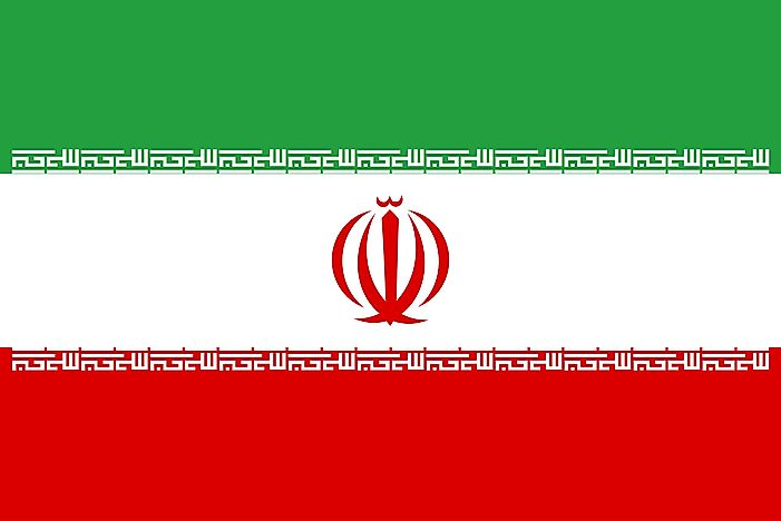 What Do The Colors And Symbols Of The Flag Of Iran Mean