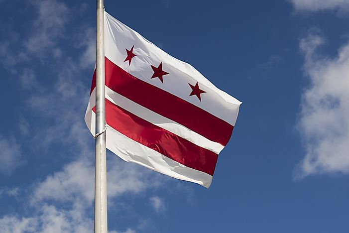 Image result for D.C. FLAG