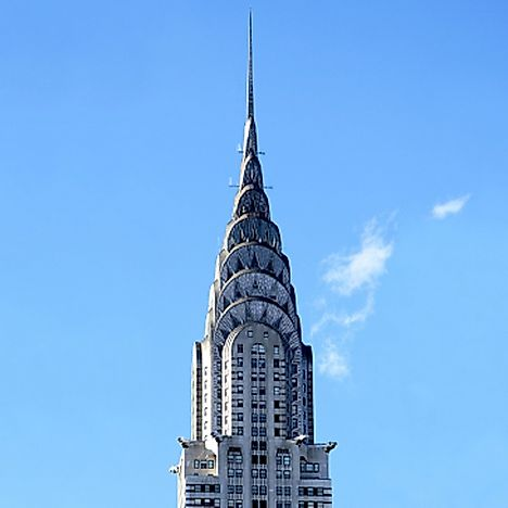 #8 Chrysler Building, New York City - 1,046 Feet